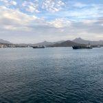 Einfahrt in den Hafen von Mindelo